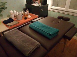 Massages naturistes relaxant